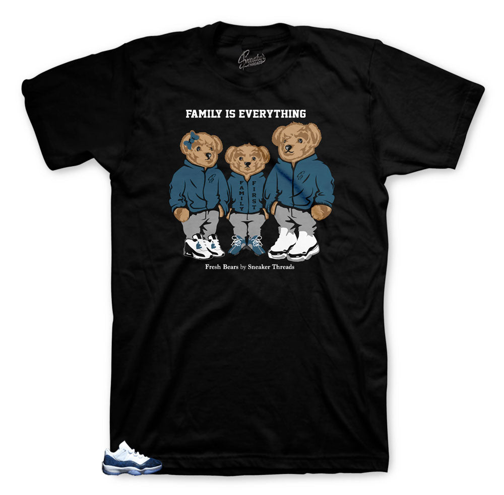 Jordan 11 snakeskin family Bear shirts to match perfect with sneaker