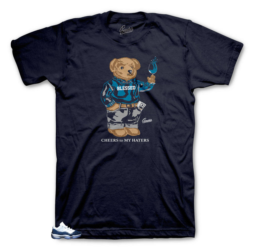Jordan Cheers Bear shirt for SnakeSkin 11's