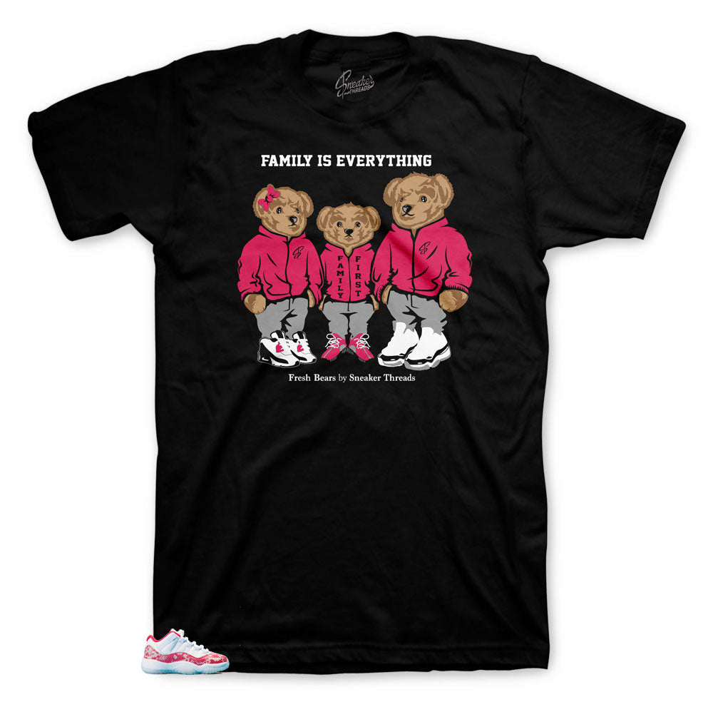 Jordan shirt collection to match Low Pink Snakeskin perfect