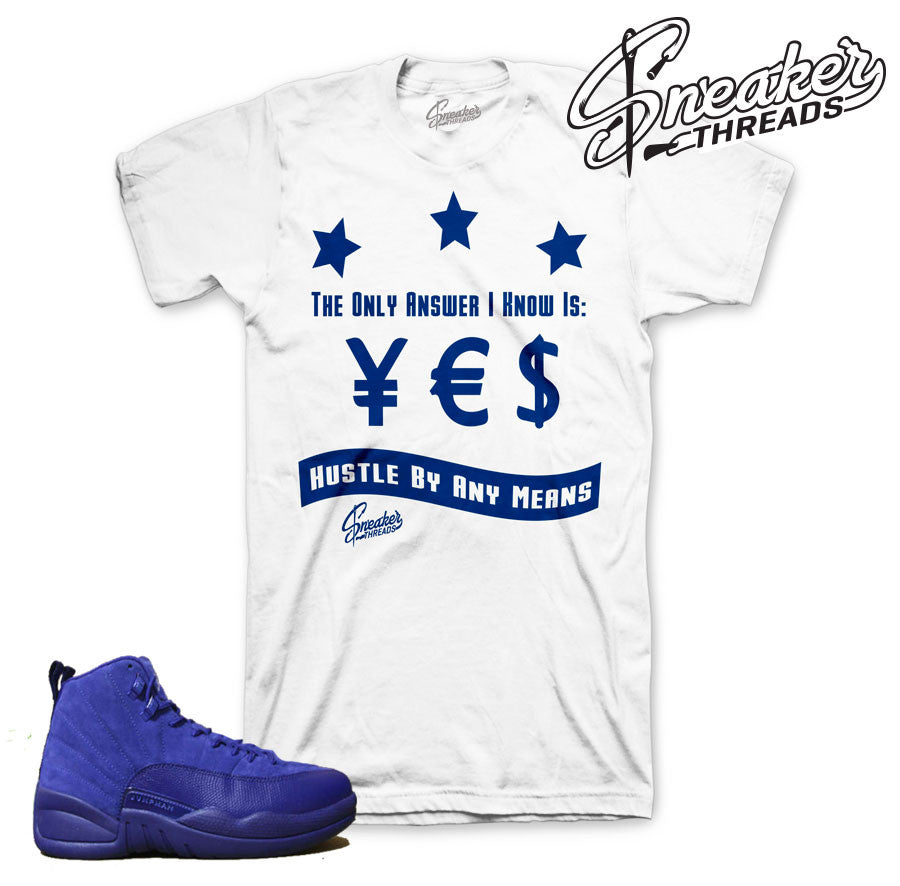 Jordan 12 Royal Blue Answer Shirt