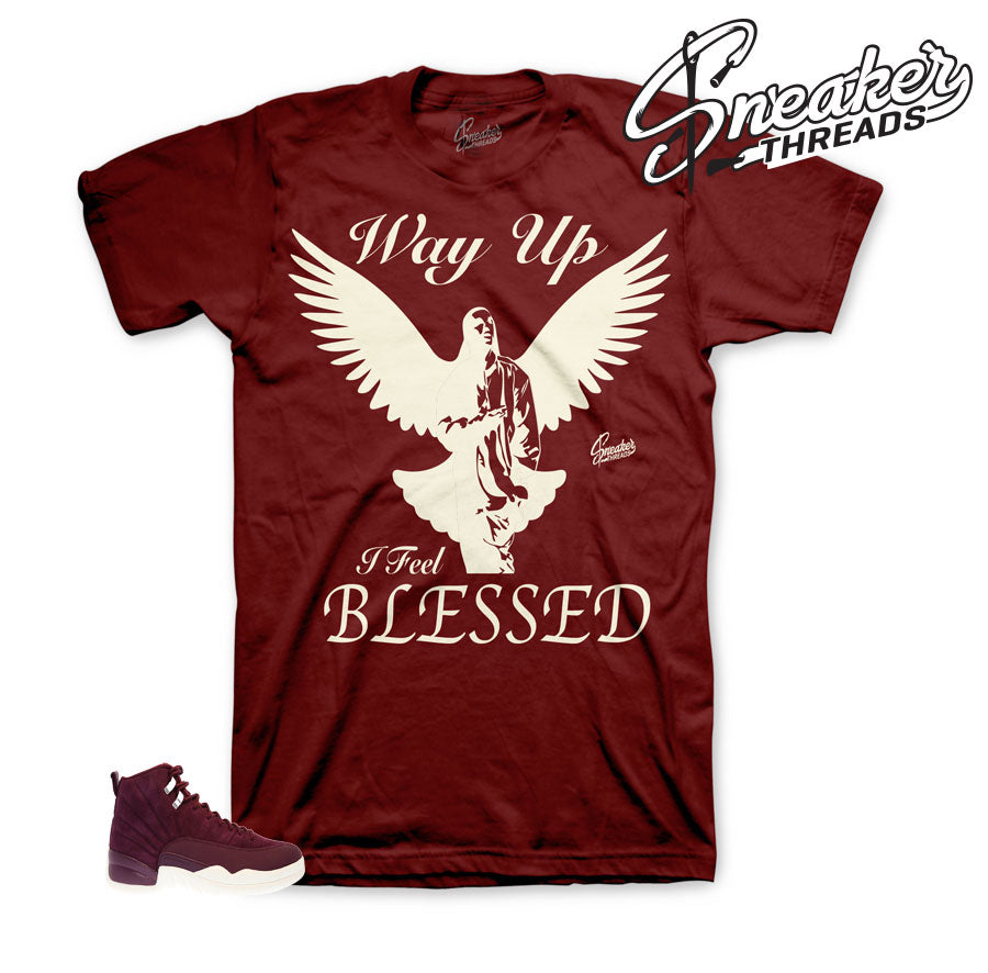 Jordan 12 bordeaux shirts match shoes | Bordeaux 12 sneaker tees,
