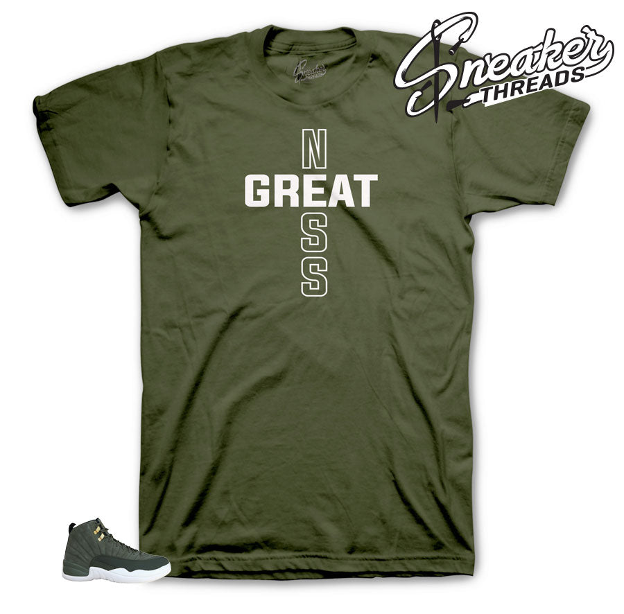 Jordan 12 Cp3 Greatness Line Shirt