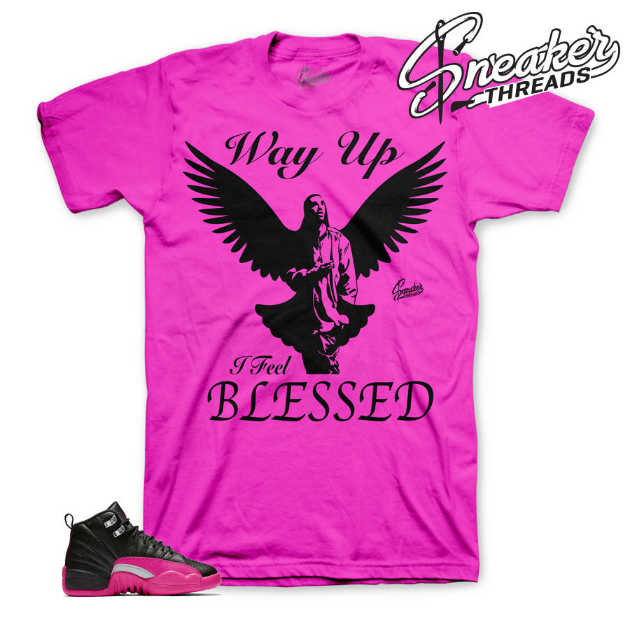 Jordan 12 Deadly Pink Way Up Shirt