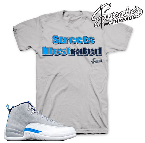 Shirts match Jordan 12 wolf grey retro 12 wolf grey tees.