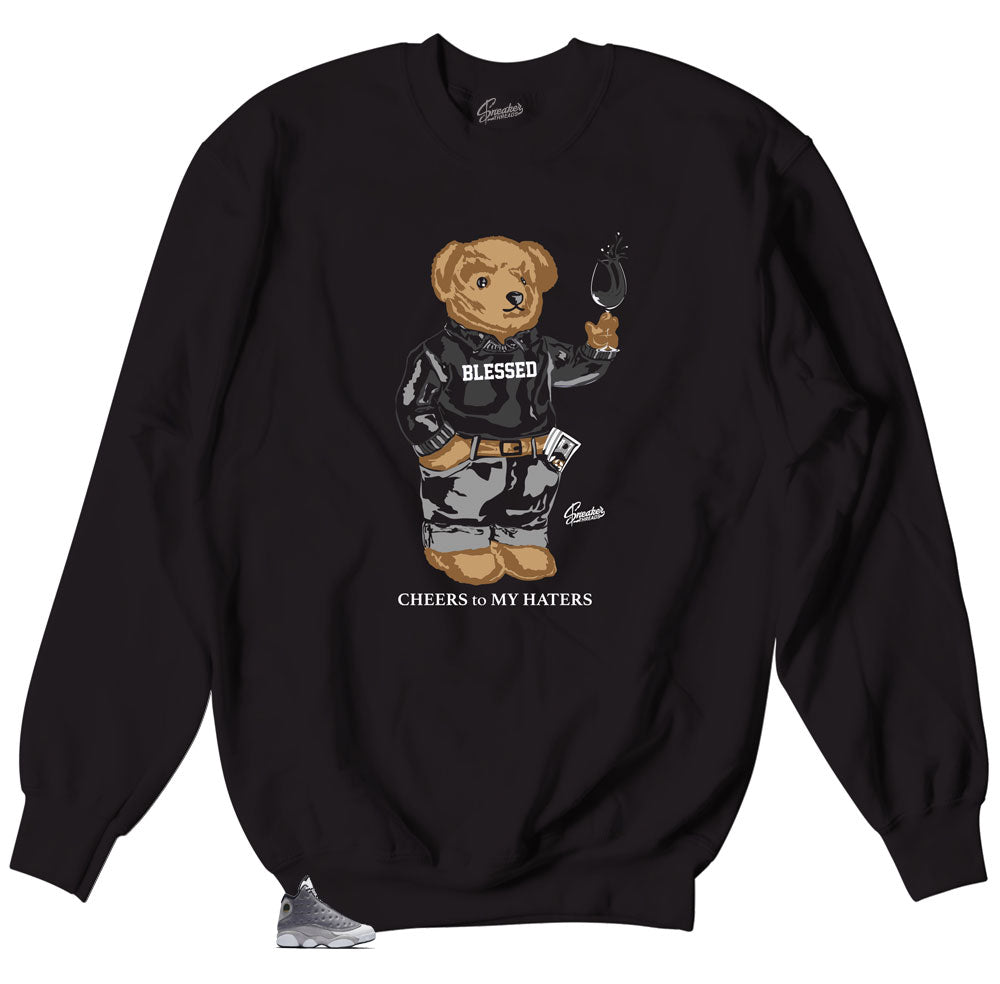 Foamposite Anthracite Cheers Bear Sweater
