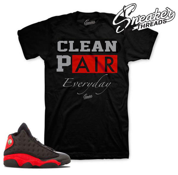 Jordan 13 Bred Everyday Shirt