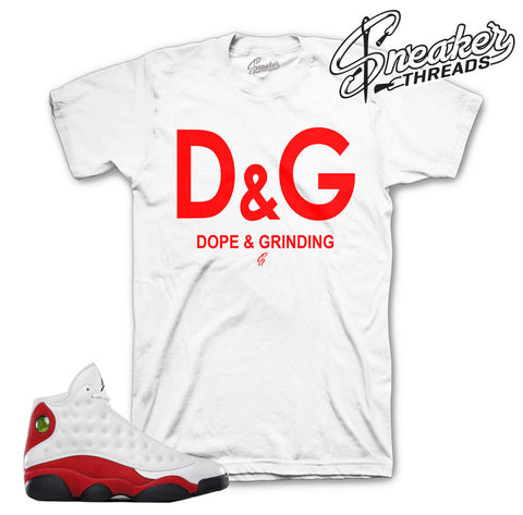Jordan 13 True Red DG Shirt