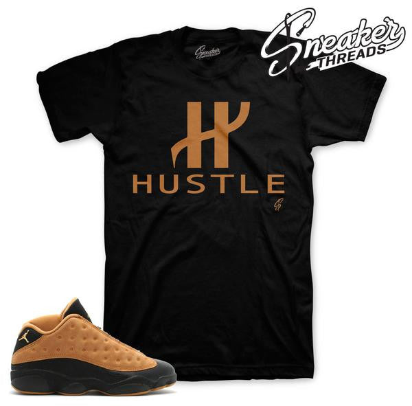 Chutney Jordan 13 shirt and tee to match sneakers.