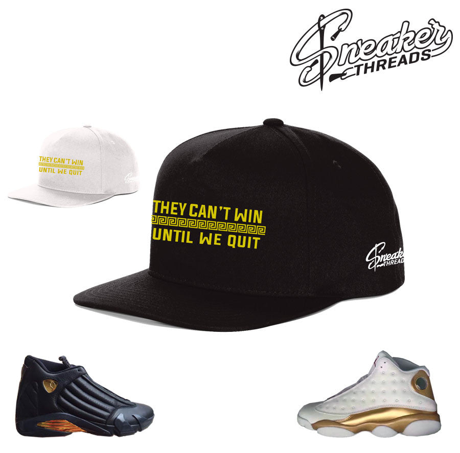 Jordan 13 DMP hat match defining moments pack hats.