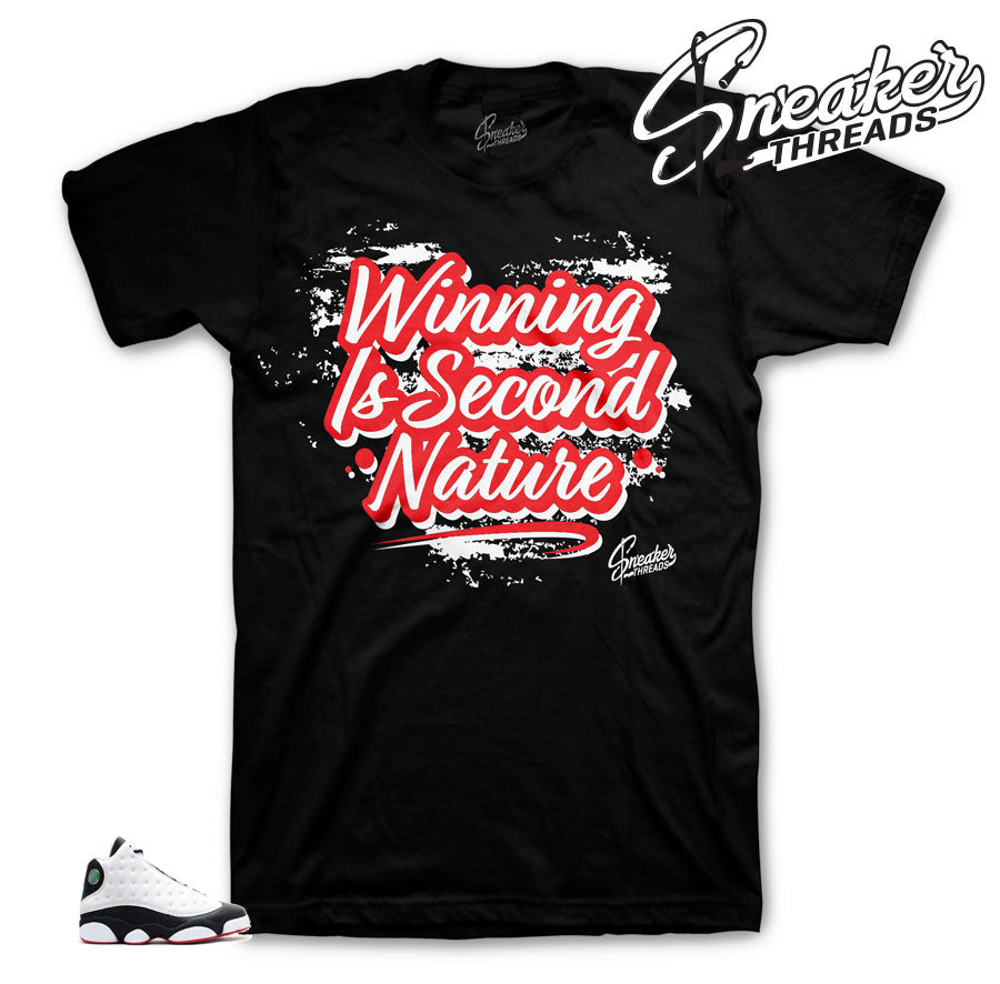 Jordan 13 He Got Game Second Nature Shirt