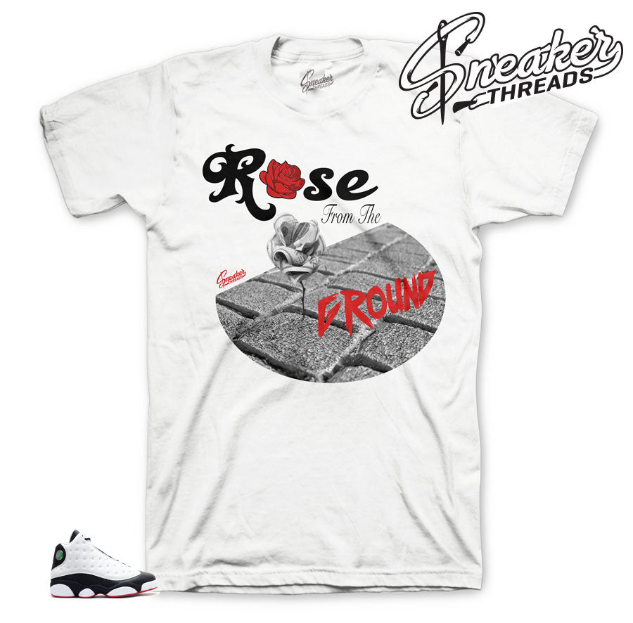 Ground Rose shirt to match He Got Game 13's