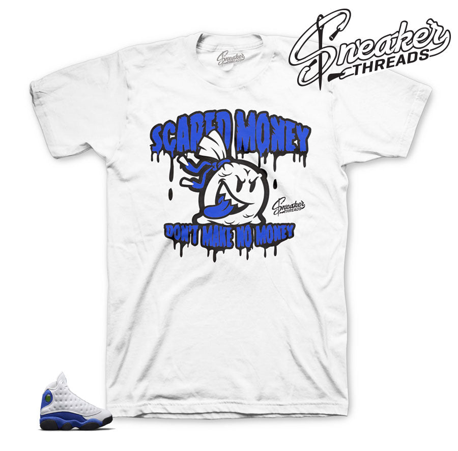 Hyper royal jordan 13 shirts match shoes | Retro 13 sneaker tees.