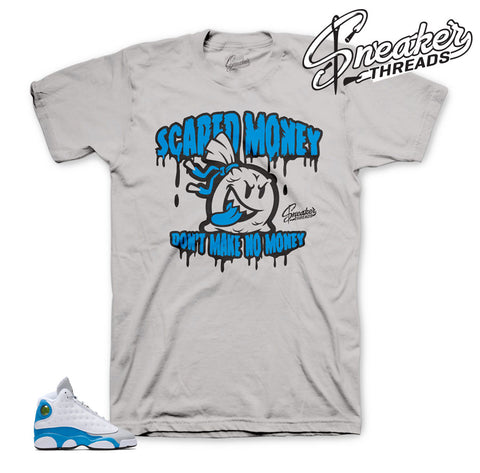 Tees match Jordan 13 Italy blue shoes | Sneaker tees.