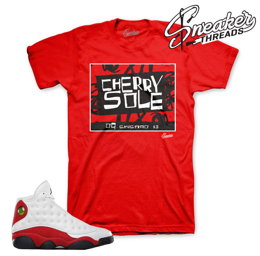 Chicago 13 shirts match OG Retro 13 shoes.