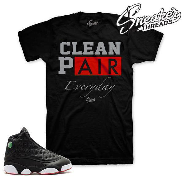 Jordan 13 playoff shirts match shoes | Official Tees