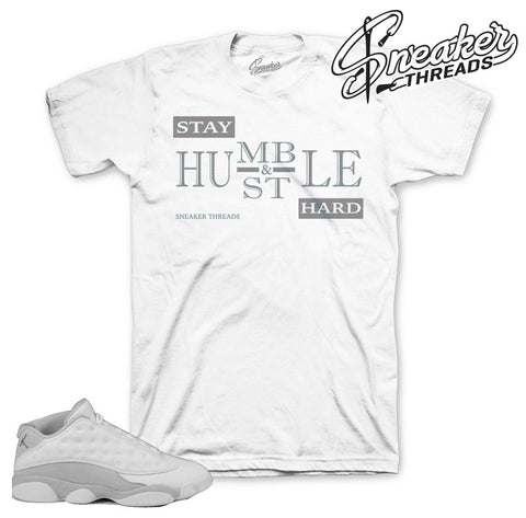 Jordan 13 low pure money tees match retro 13's sneakers.
