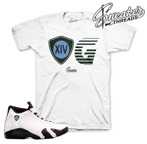 Jordan 14 oxidized shirts match retro 14 oxidized sneaker tees.