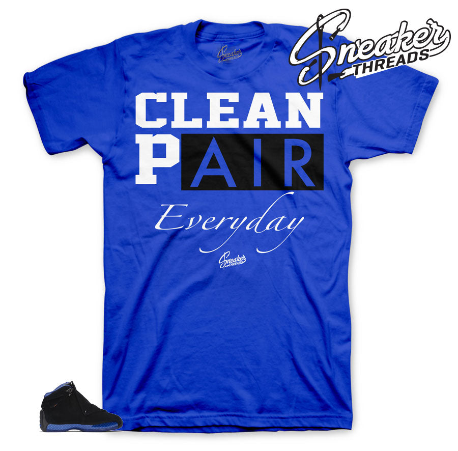 Jordan 18 Royal Everyday shirt