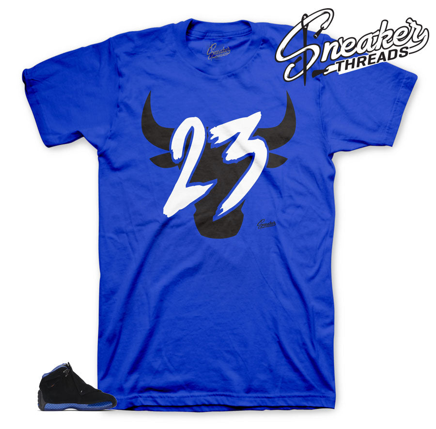 Toro Royal shirt to match Royal 18's