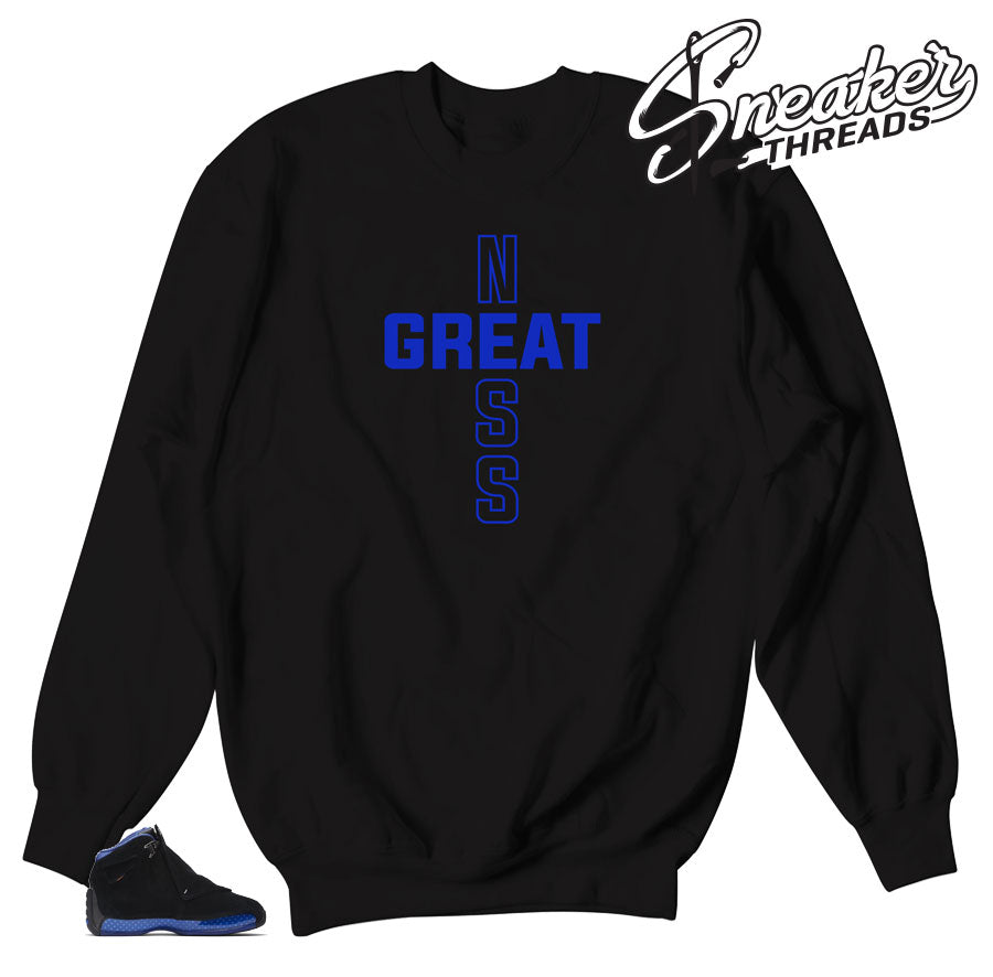 Sweaters to match Jordan 18 Royal Collection