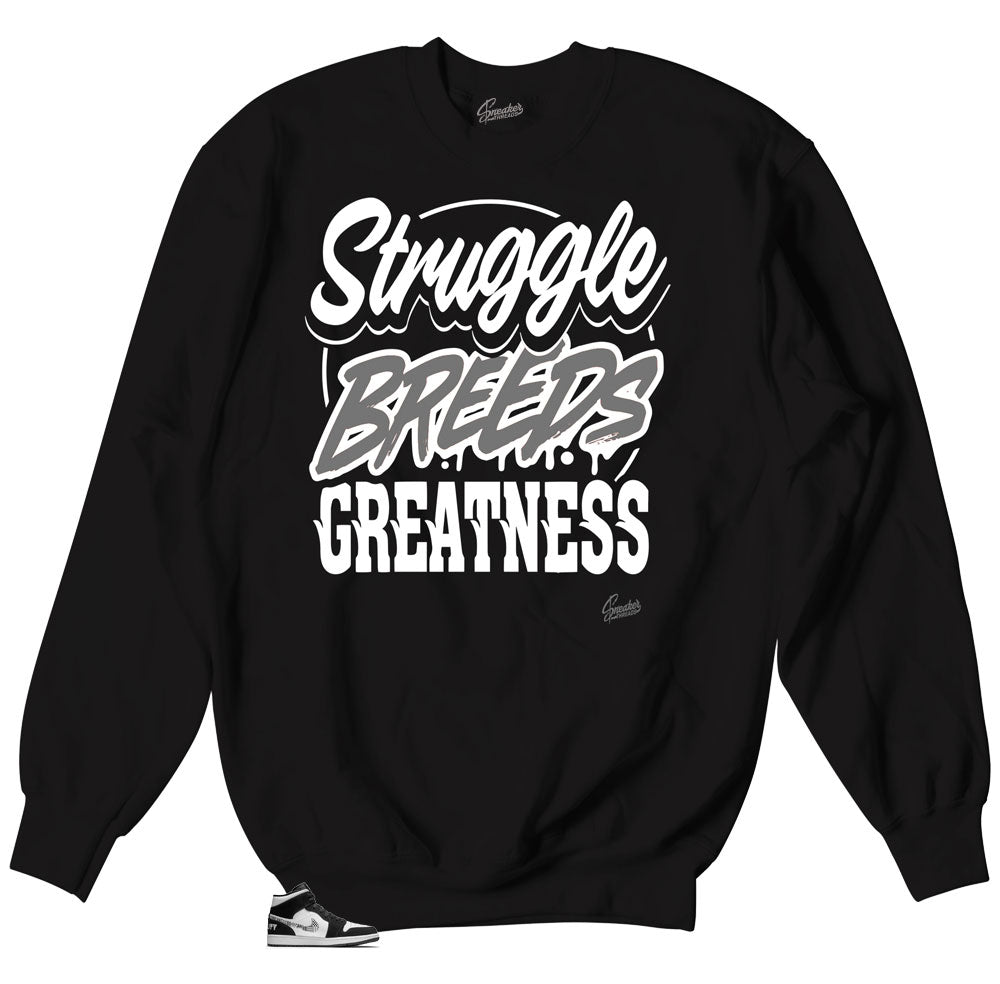 Equality Jordan 1 sneakers matching crewneck sweaters designed to match sneakers Jordan 1 Equality