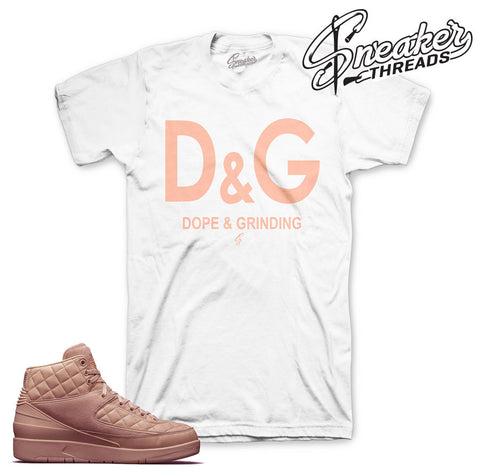Jordan 2 Just Don arctic orange shirts match sneakers.