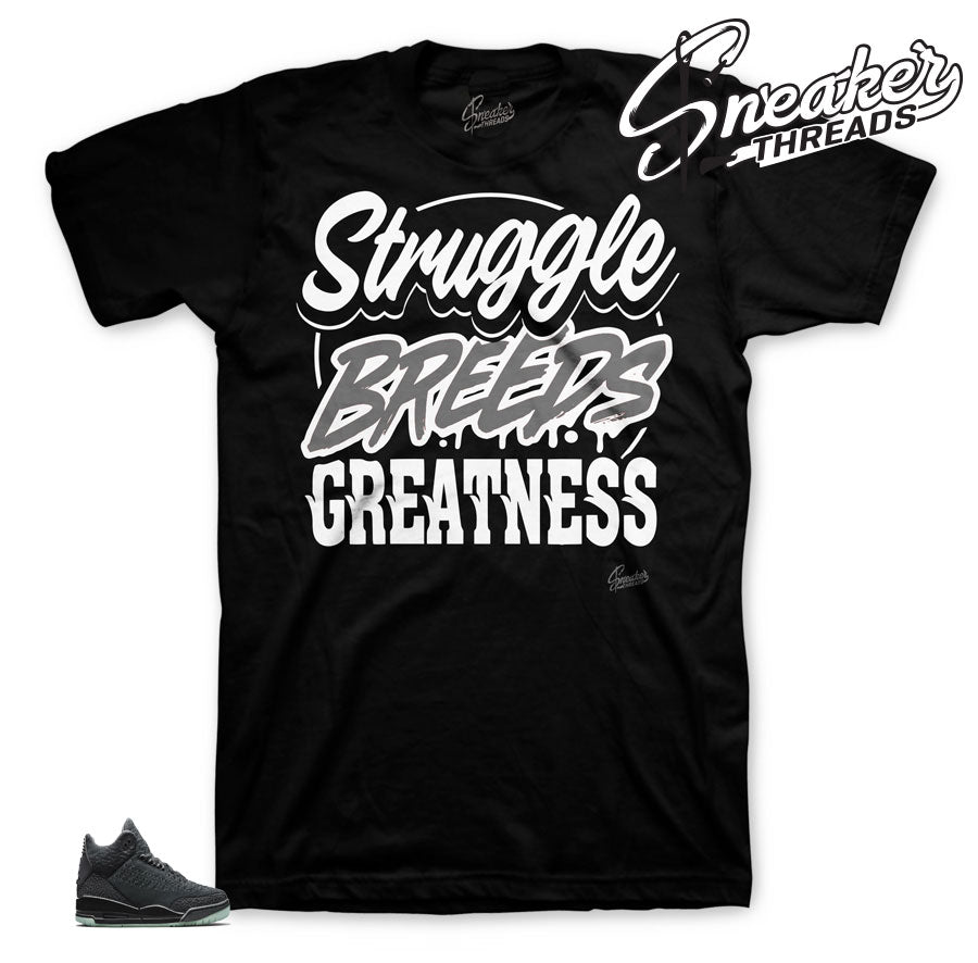 Struggle Breeds Greatness tee for Flyknit 3's