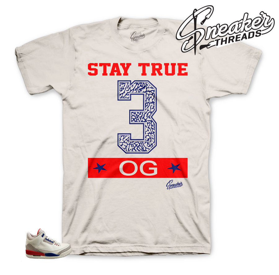 Stay True Shirt for Charity Game 3's