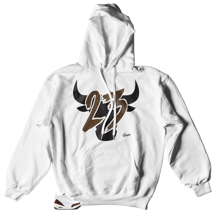 Jordan 3 Mocha sneakers matching hoody made to match Mocha Jordan 3 sneakers