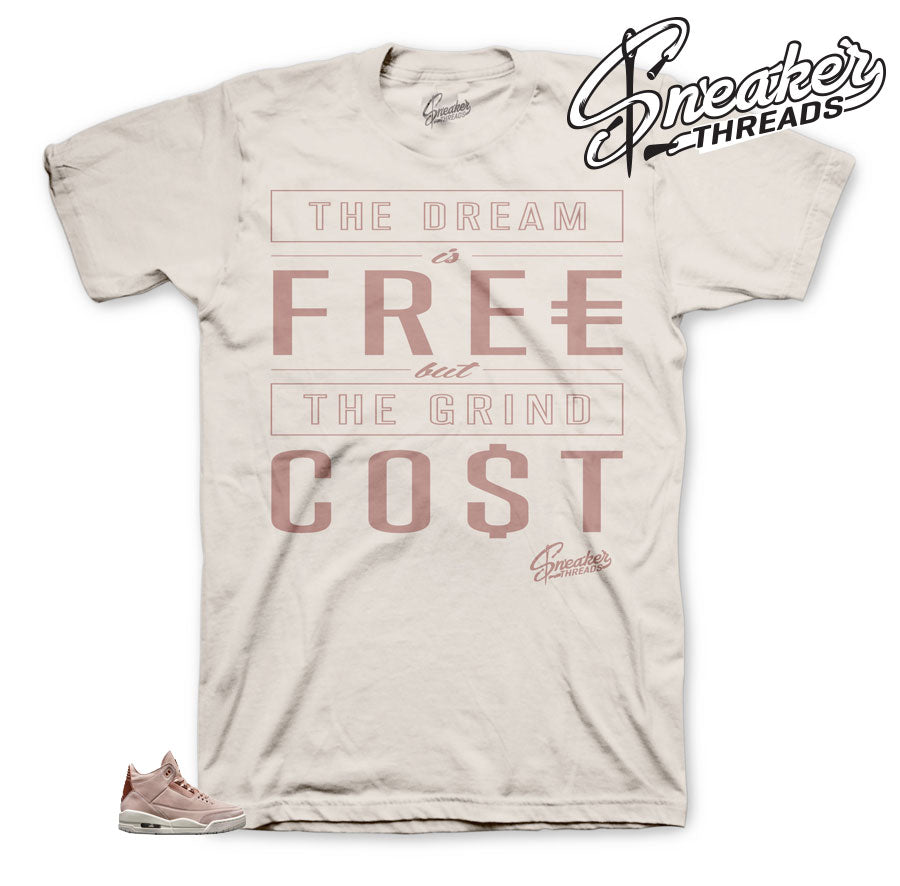 Shirt to match Jordan 3 Particle Beige | Sneaker tees