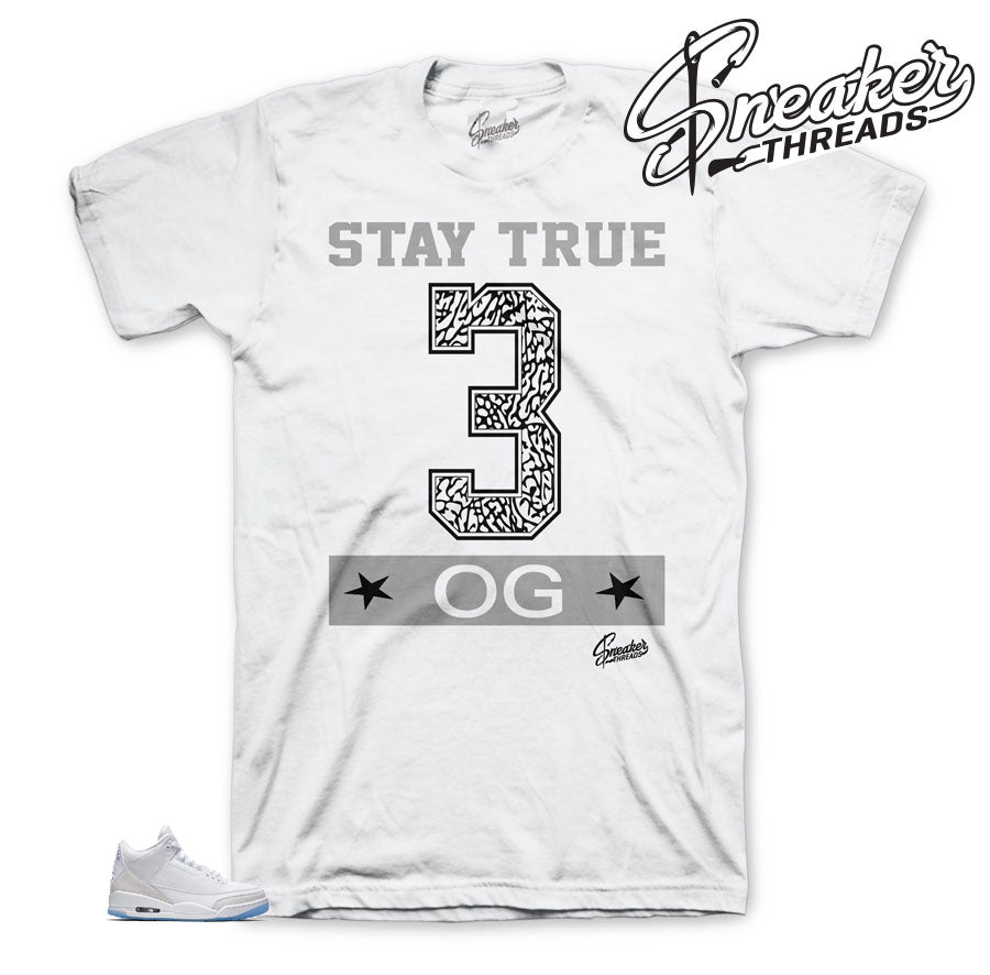 Stay True Matching shirt for Pure Money 3's