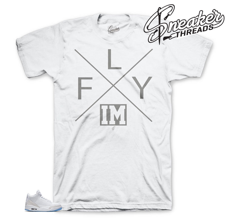 Triple White Fly Shirt | Sneaker tees