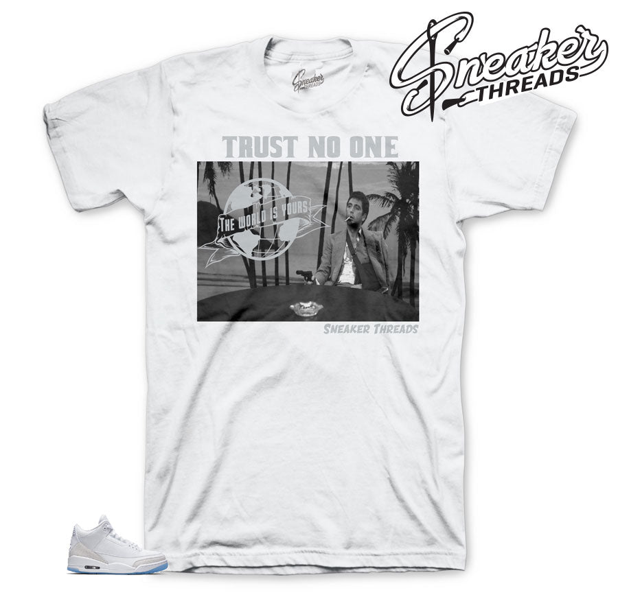 Jordan 3 Pure Money Scarface Shirt