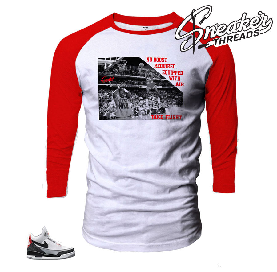 Jordan 3 Tinker No Boost Required Raglan