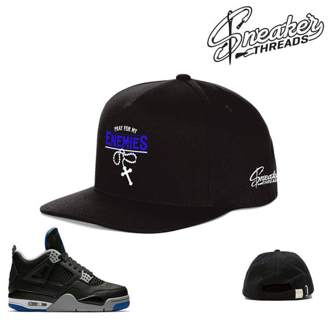 Jordan 4 alternate motorsport hat match retro 4 hats.