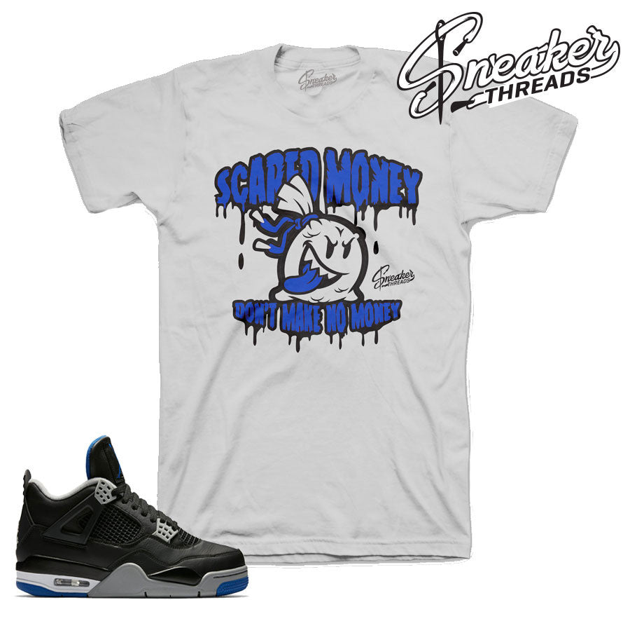 Jordan 4 black royal tees | Sneaker shirts | Official Clothing