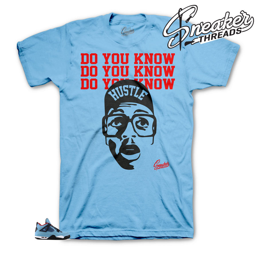 Jordan 4 Cactus Jack Do you Know Shirt