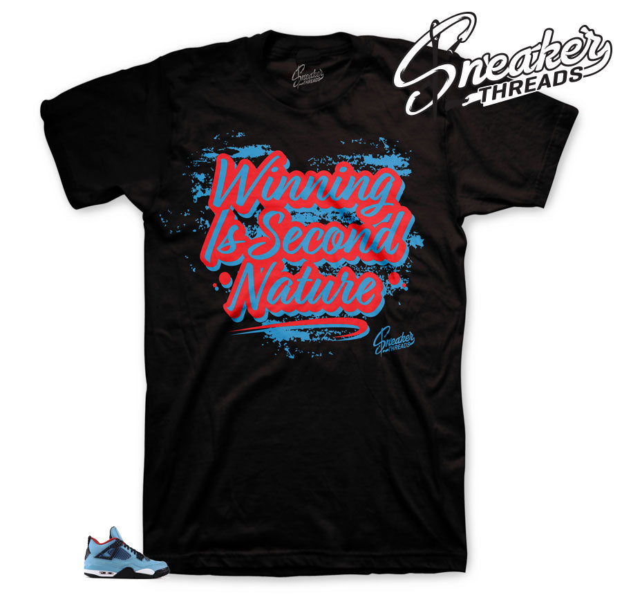 Jordan 4 Cactus Jack Second Nature Shirt