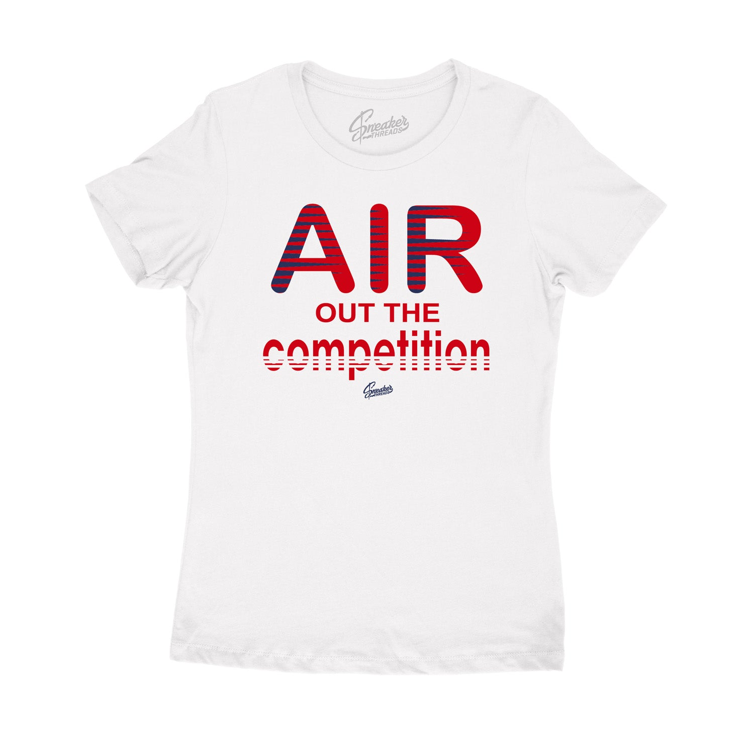 Womens tees made to match perfectly with womens Jordan 4 fiba sneaker collection