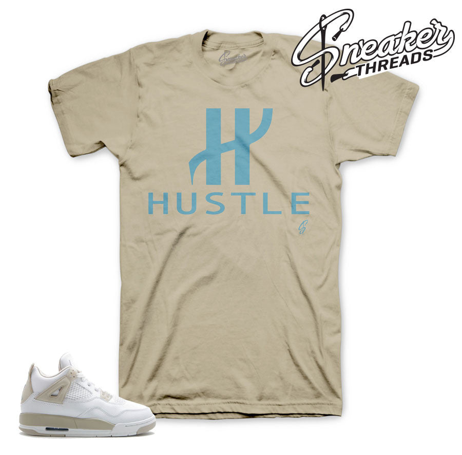 Jordan 4 linen shirts match | Official sneaker tee