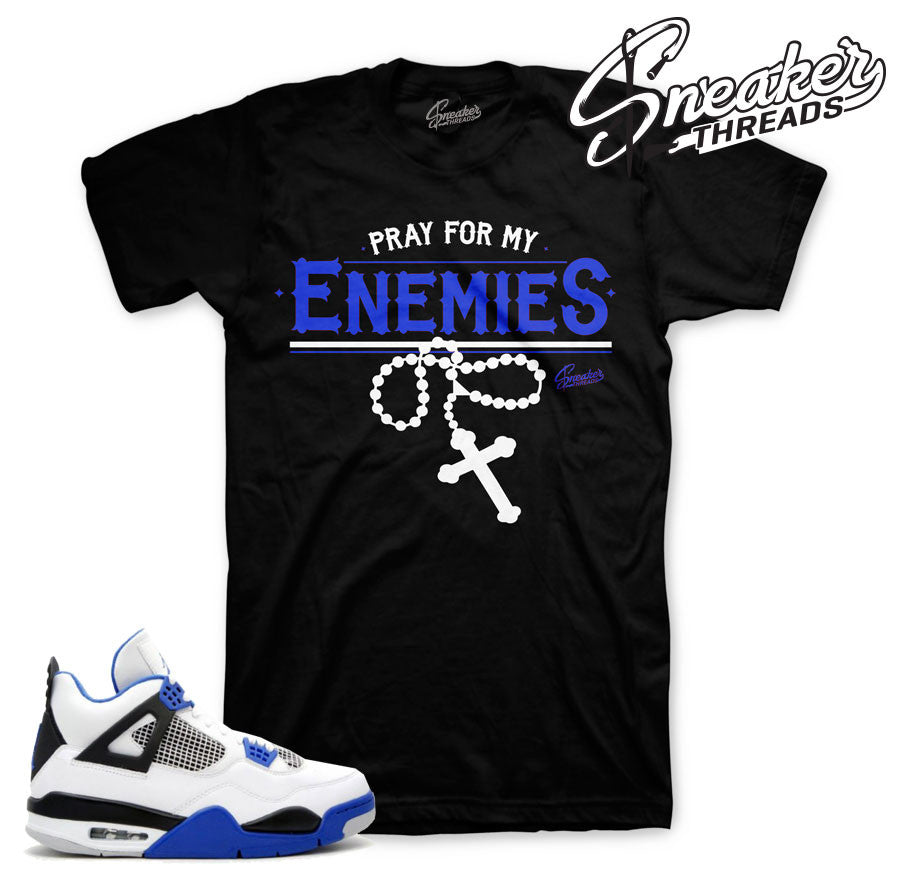 jordan 4 motorsport enemies shirt