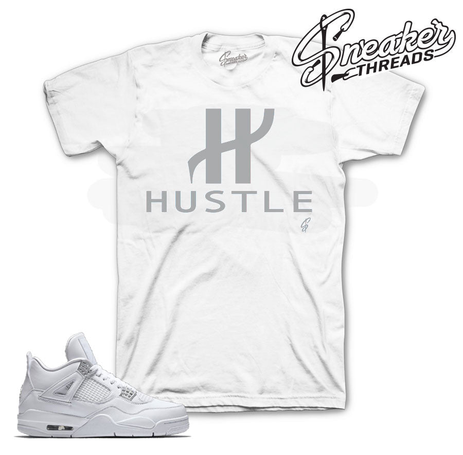 Jordan 4 pure money tee match retro 4 | Sneaker tee