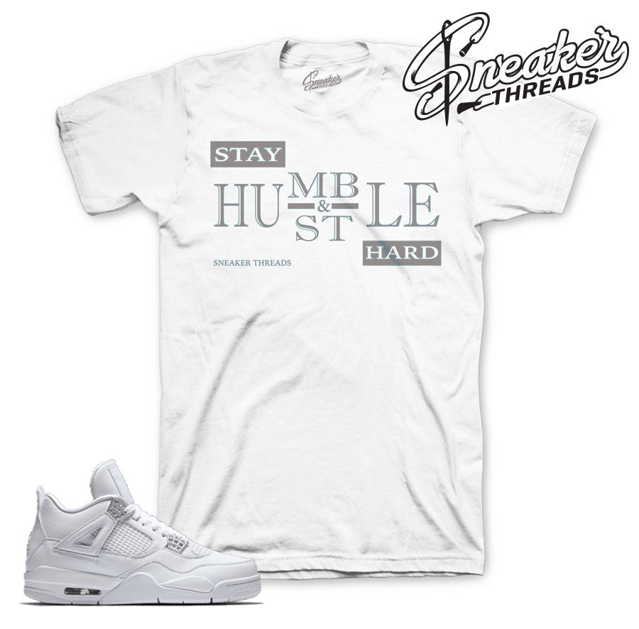 Jordan 4 pure money shirt match retro 4 | Sneaker shirts