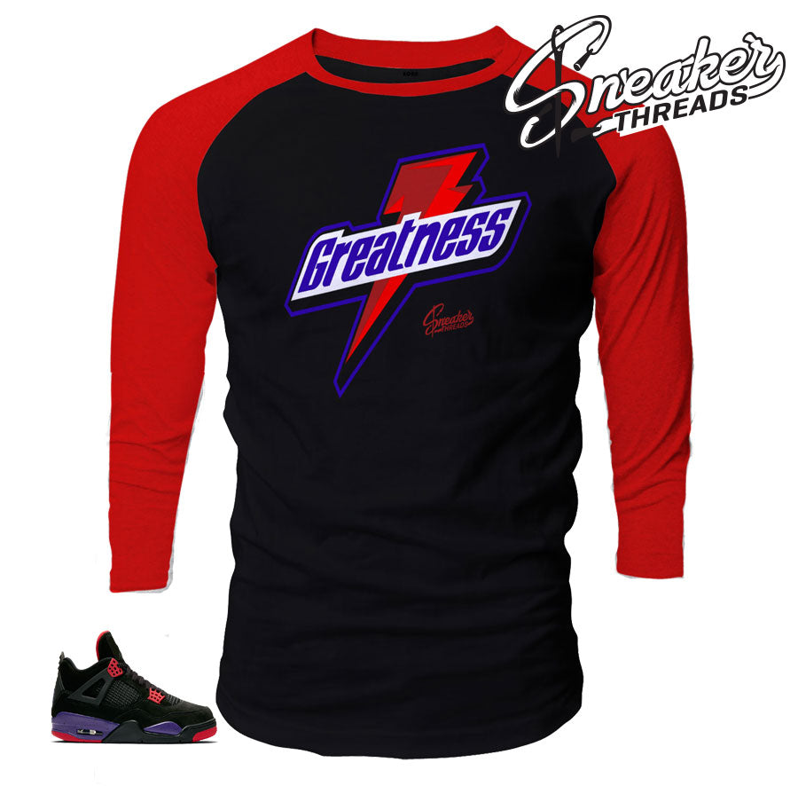 Great Raglan To Match Jordan 4 Raptor
