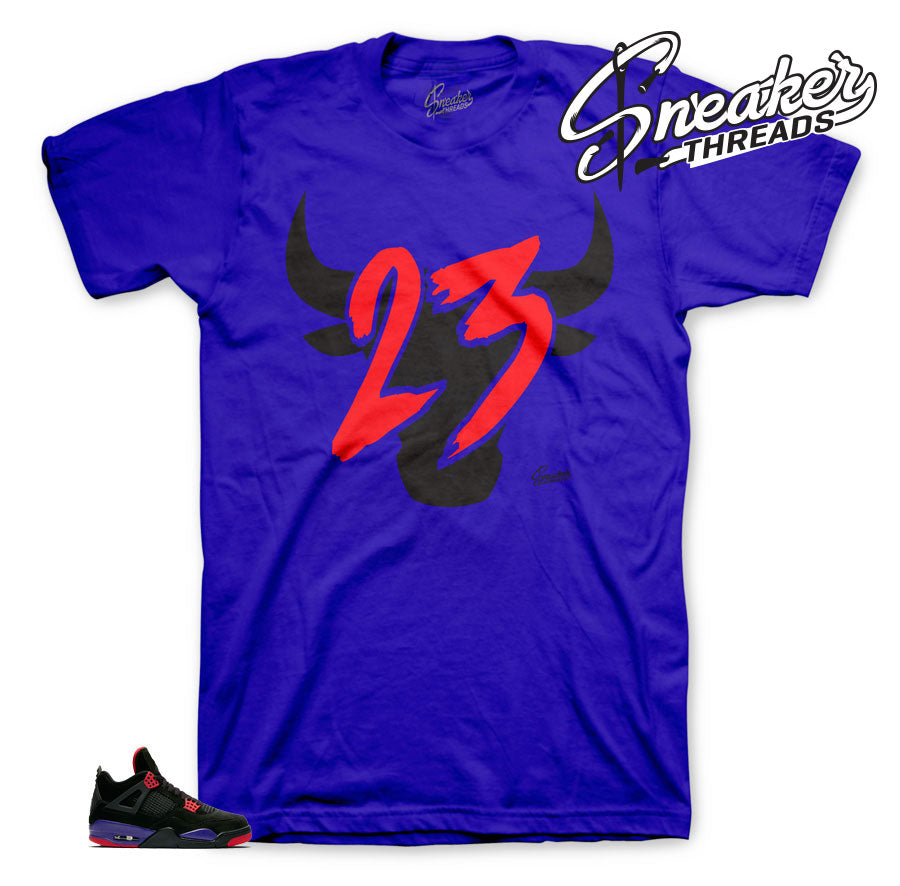 Toro Matching tees to match Jordan 4 Raptor