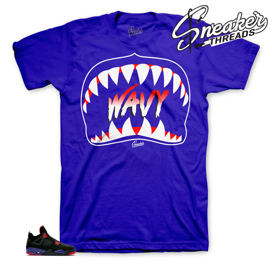 Wavy Shirt to match Jordan 4 raptor