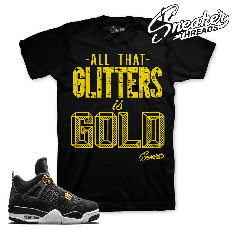 Jordan 4 royalty t-shirts match retro 4's sneaker tees.
