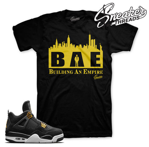 Jordan 4 royalty shirts | Royalty 4 clothing match shoes