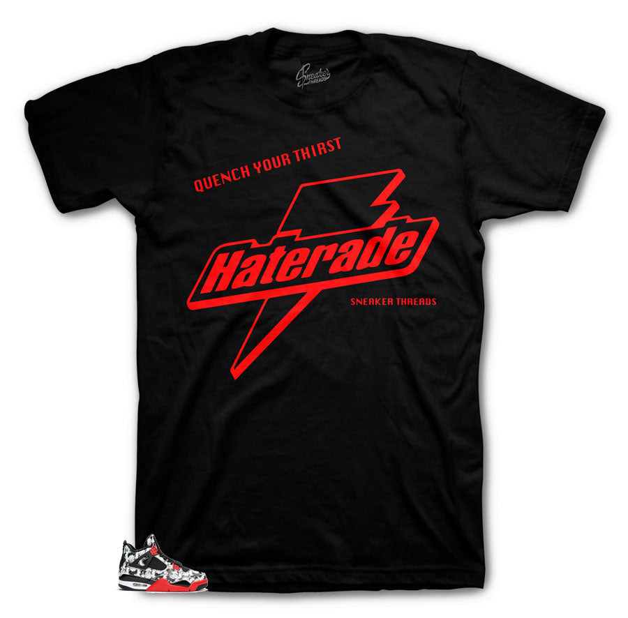 Tee shirt designed to match Jordan 4 Tattoo sneaker