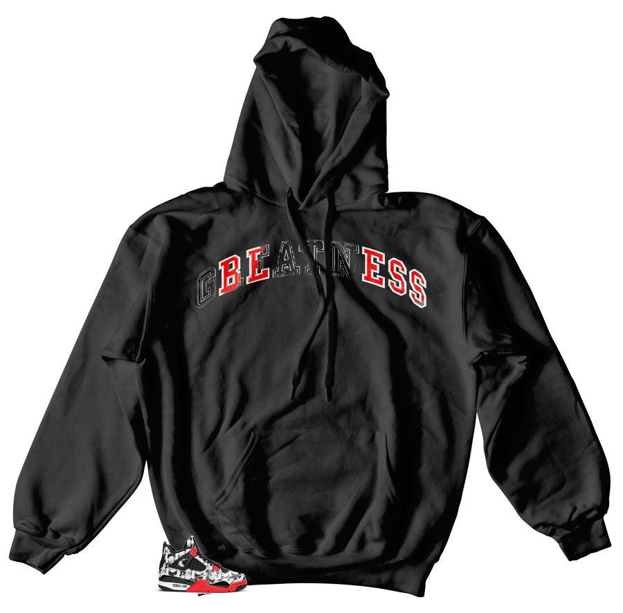 Jordan 4 Tattoo Stitched Hoody